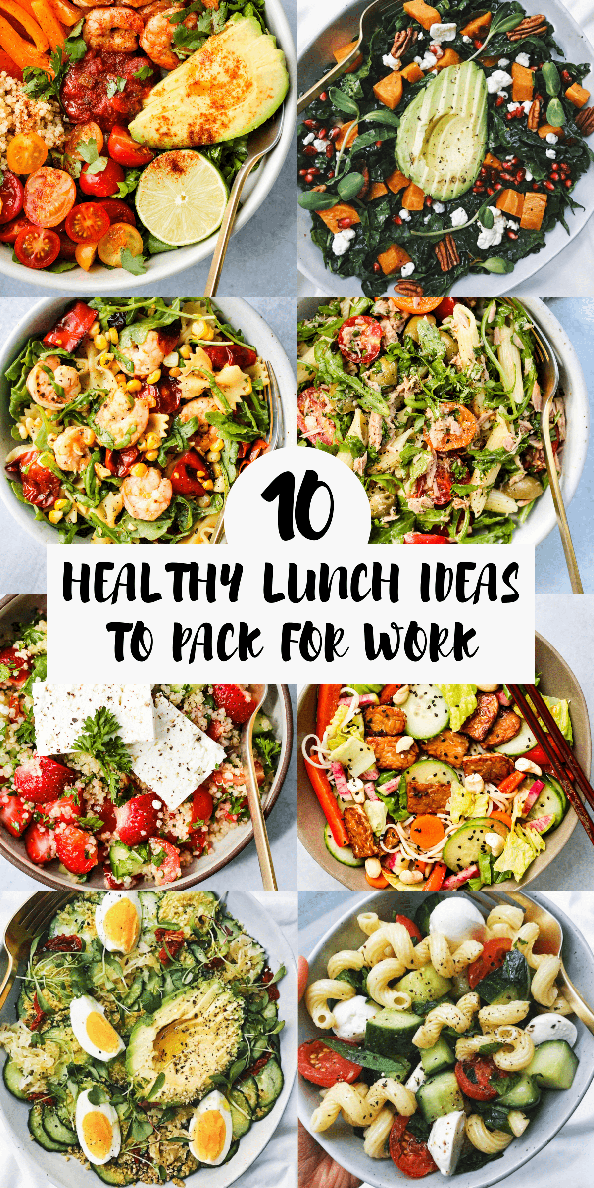 18 Healthy Lunch Ideas To Pack For Work Walder Wellness Dietitian