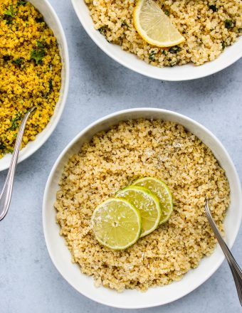 how to cook quinoa and 3 ways to add flavour