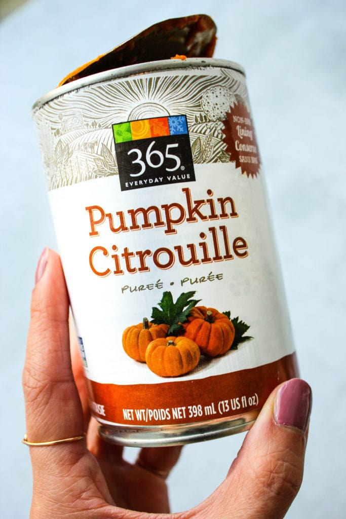 canned pumpkin puree