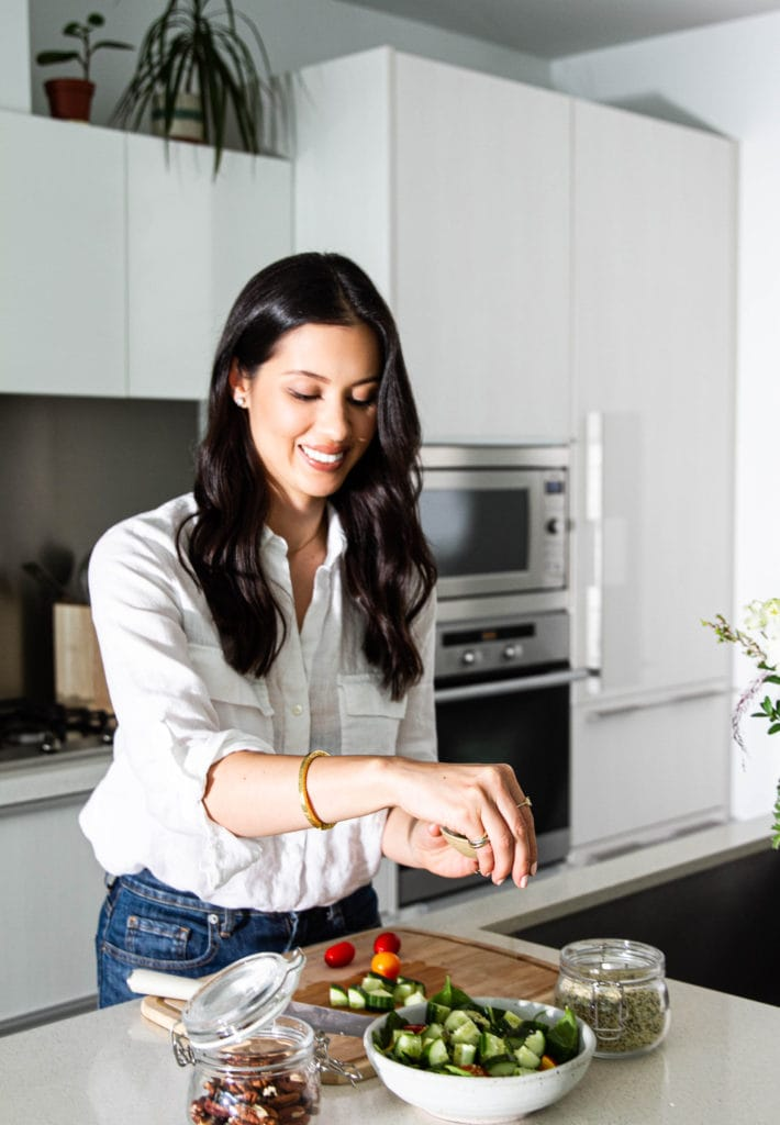 carrie walder, registered dietitian and food blogger